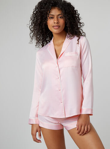 Rita short satin pyjama set
