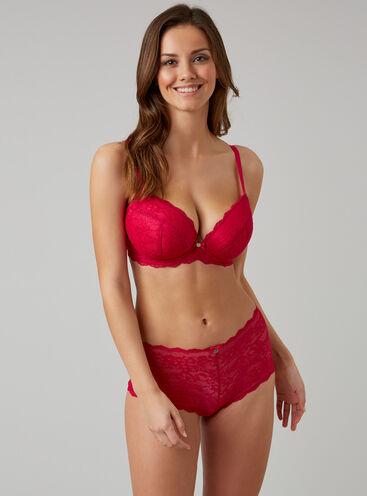 Mollie lace plunge lingerie set