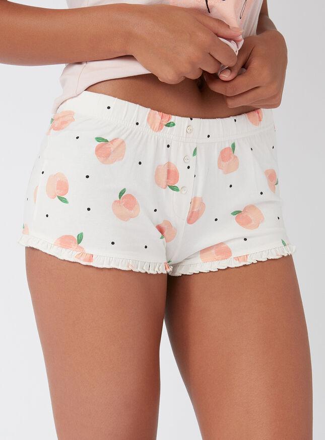 """""""Life's peachy"""" pyjama set"""