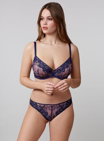 Celia lace balconette lingerie set