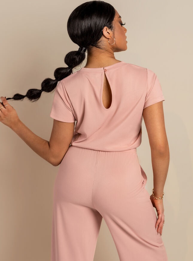Tilly ribbed jumpsuit