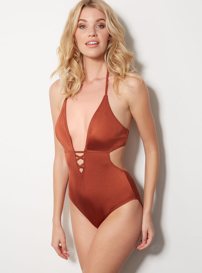 Fiji plunge swimsuit