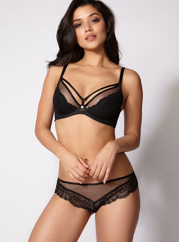 Harper non-padded full support lingerie set