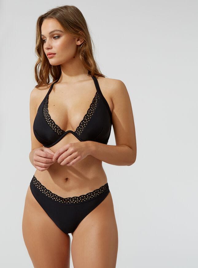 Ibiza laser cut Brazilian bikini briefs