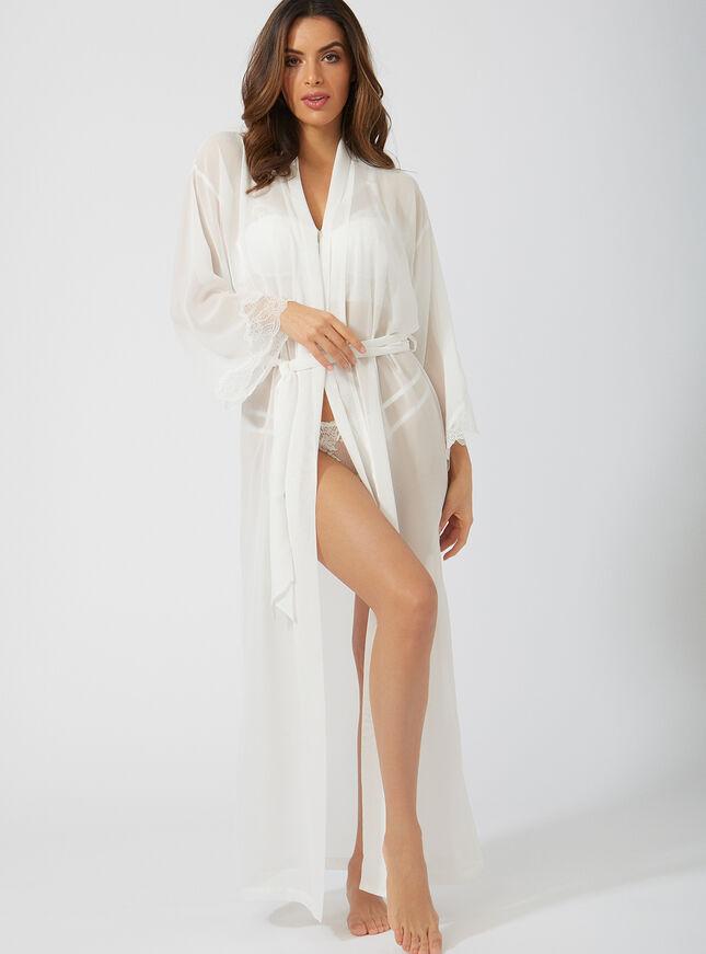 Chiffon maxi robe