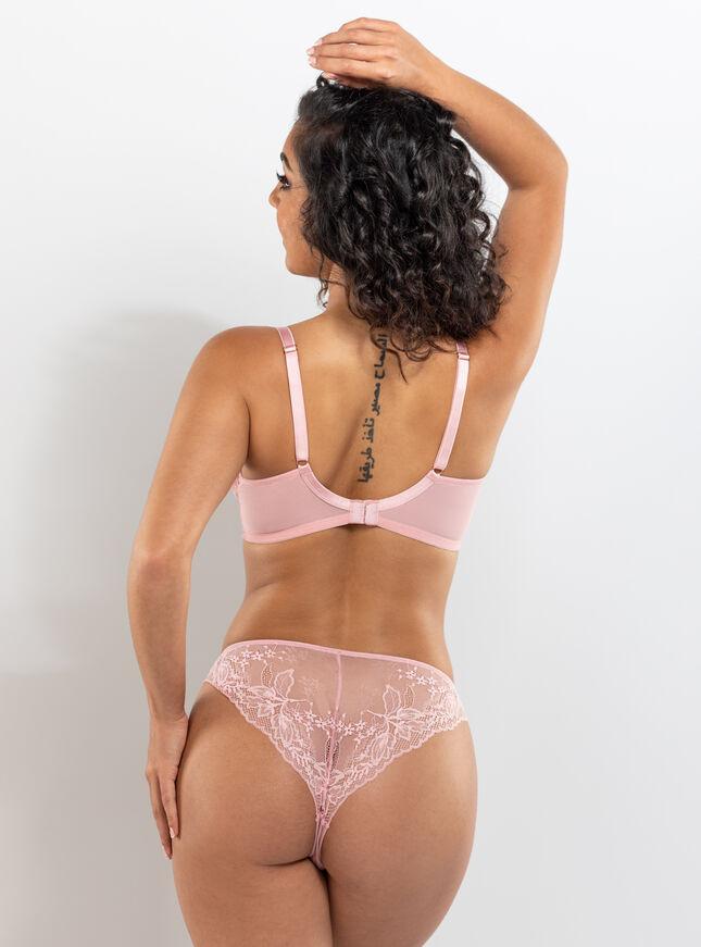 Kadie plunge lingerie set