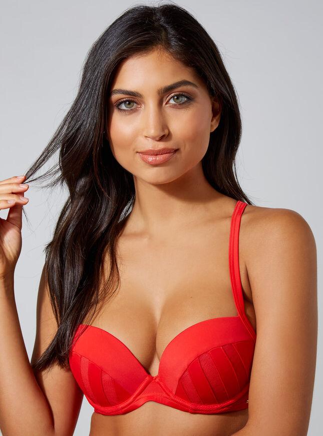 Paxos mesh bikini top