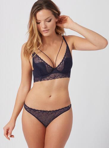 Marcella strappy plunge lingerie set