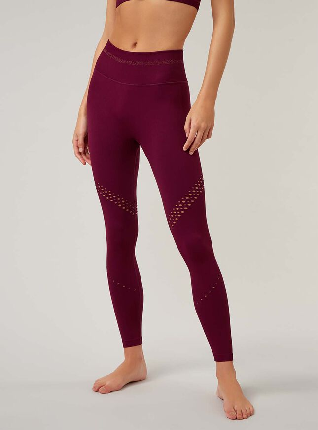 Boux Sport textured rib leggings
