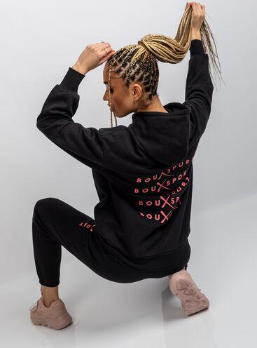 Boux Sport longline hoodie