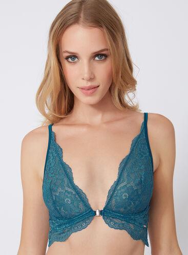 Bouxtique lace unpadded plunge bra