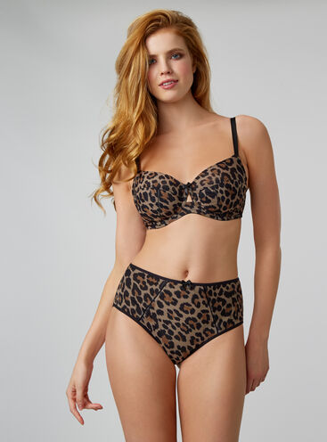 Tallulah leopard high-waisted briefs