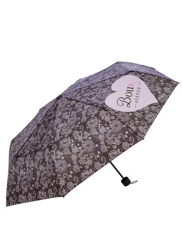 Lace print umbrella