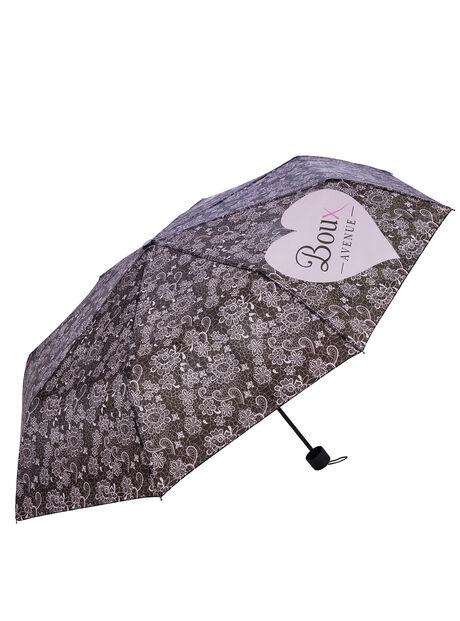 Lace print umbrella