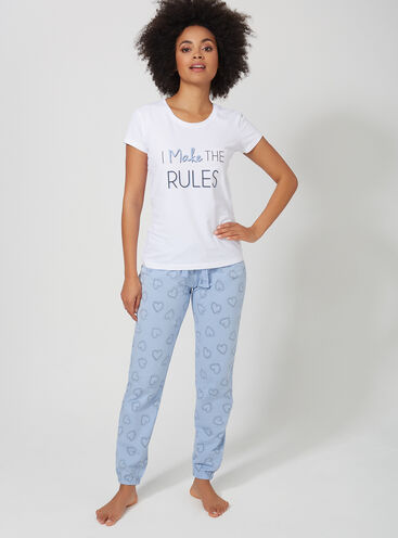 """I Make the rules"" pyjama set"