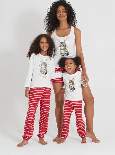 Merry catmas family pyjama set