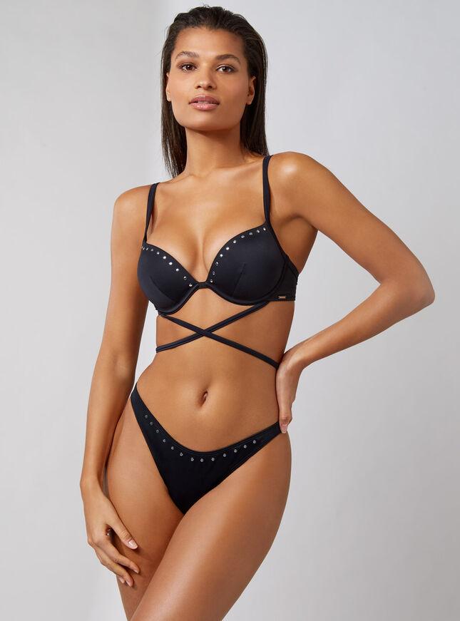 Muscat padded bikini top