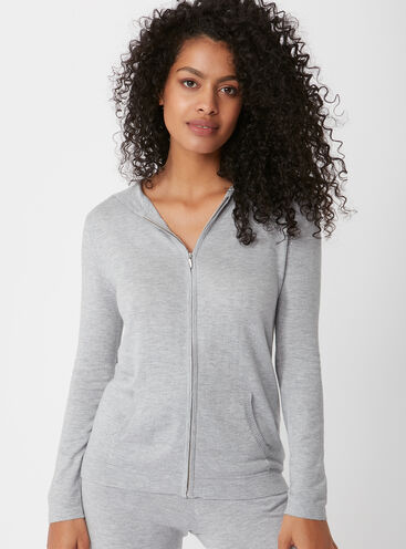 Cashmere blend hoody
