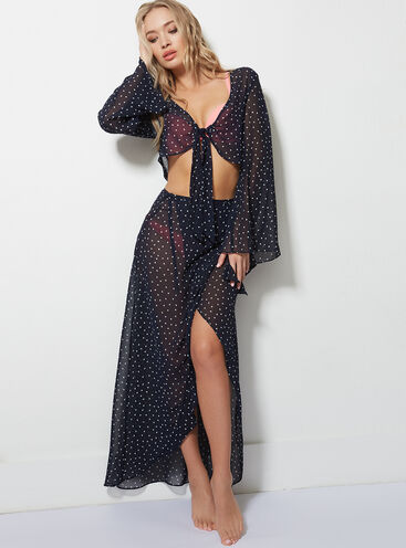 Polka dot beach co-ord