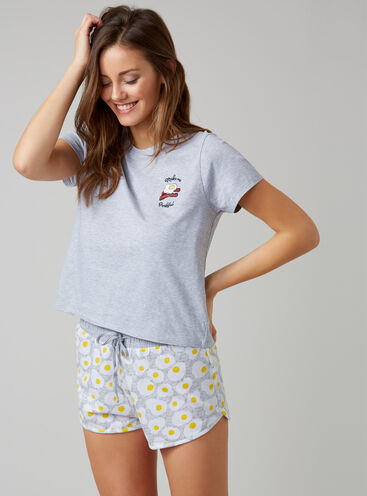 """Make me breakfast"" pyjama set"