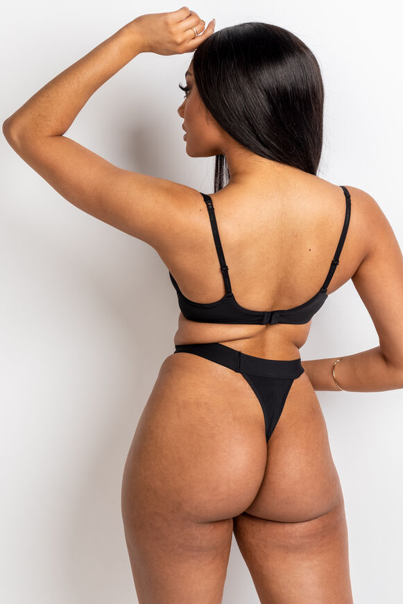 Boux lounge mesh balconette lingerie set