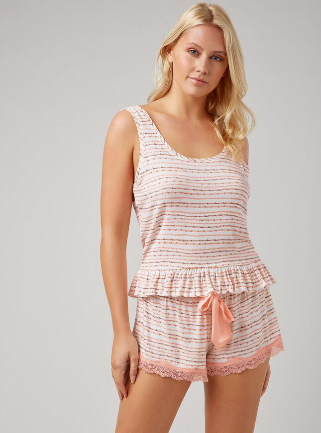Boux stripe pyjama set