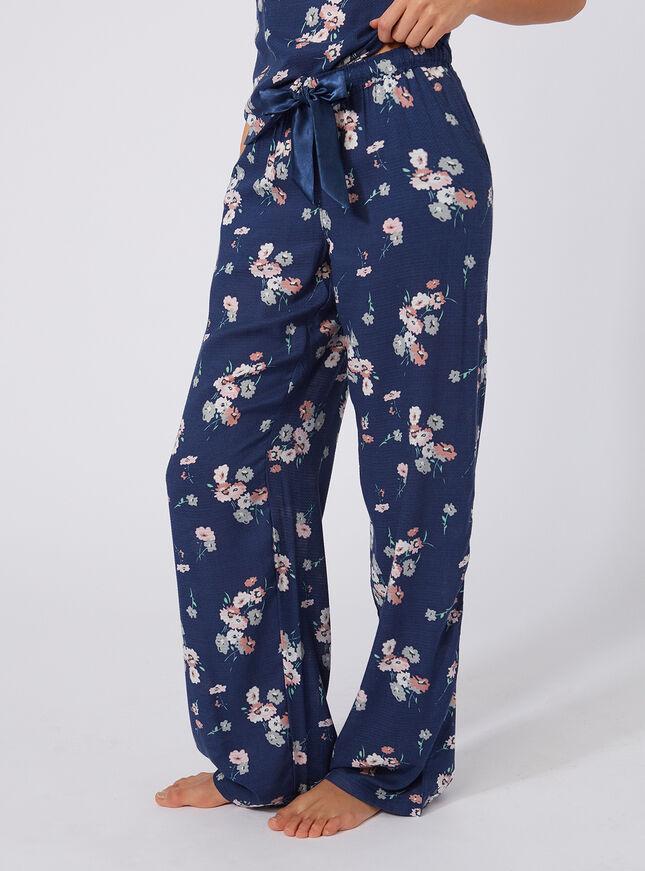 Wildflower printed pants