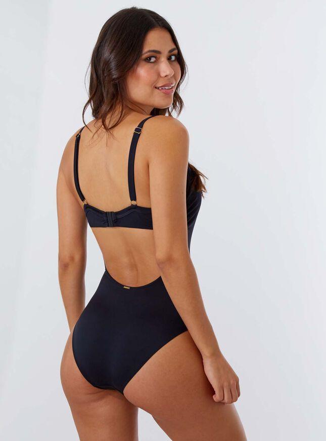 Moritz DD+ belted swimsuit
