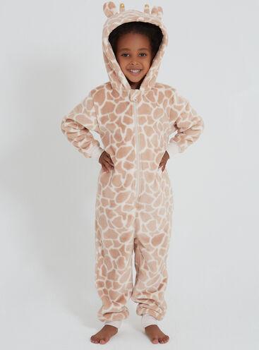 Girls pretty giraffe onesie