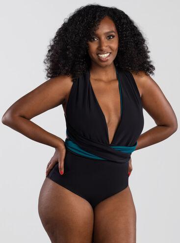 Grenada reversible plunge swimsuit