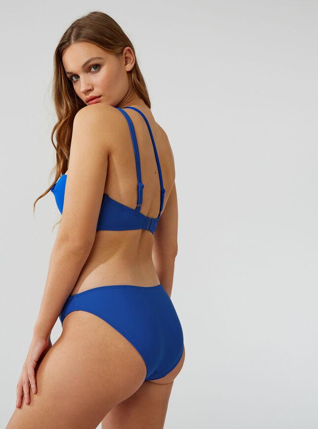 Panama buckle bikini top