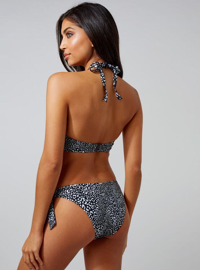Baros leopard multiway bikini top