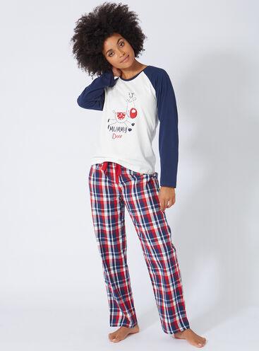 Mama deer womens pyjama set