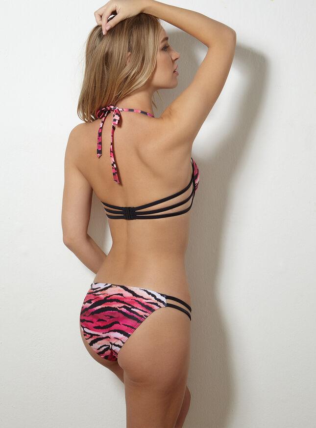 Argentina tiger print bikini top