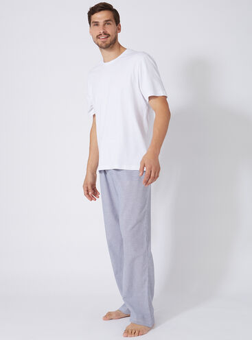 Mens stripe pyjama set