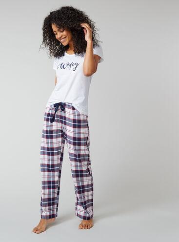 """""""Wifey"""" pyjama set"""