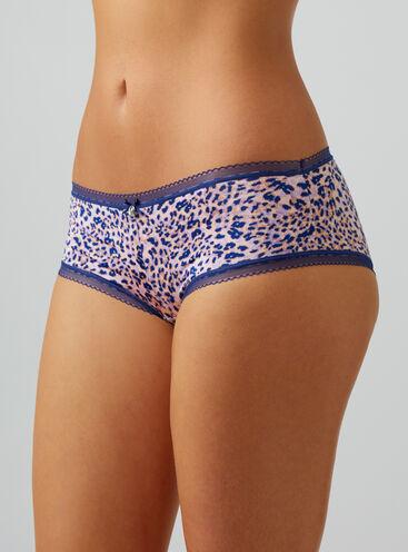 Lillie leopard shorts