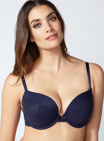 Avril spot full support plunge bra