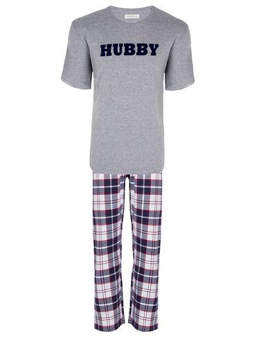 """Hubby"" mens' pyjama set"
