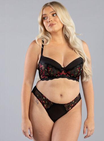 Siobhan balconette lingerie set