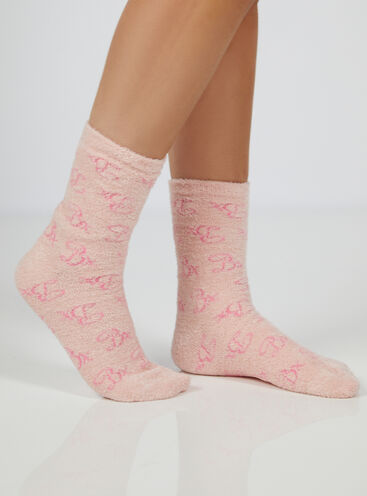 Bx logo cosy socks