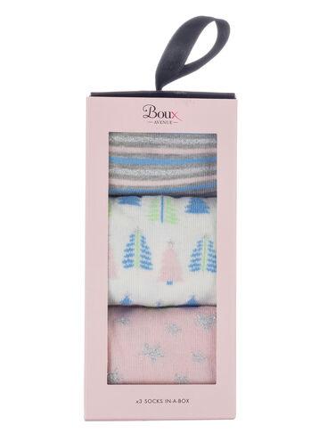 3 pack socks gift set