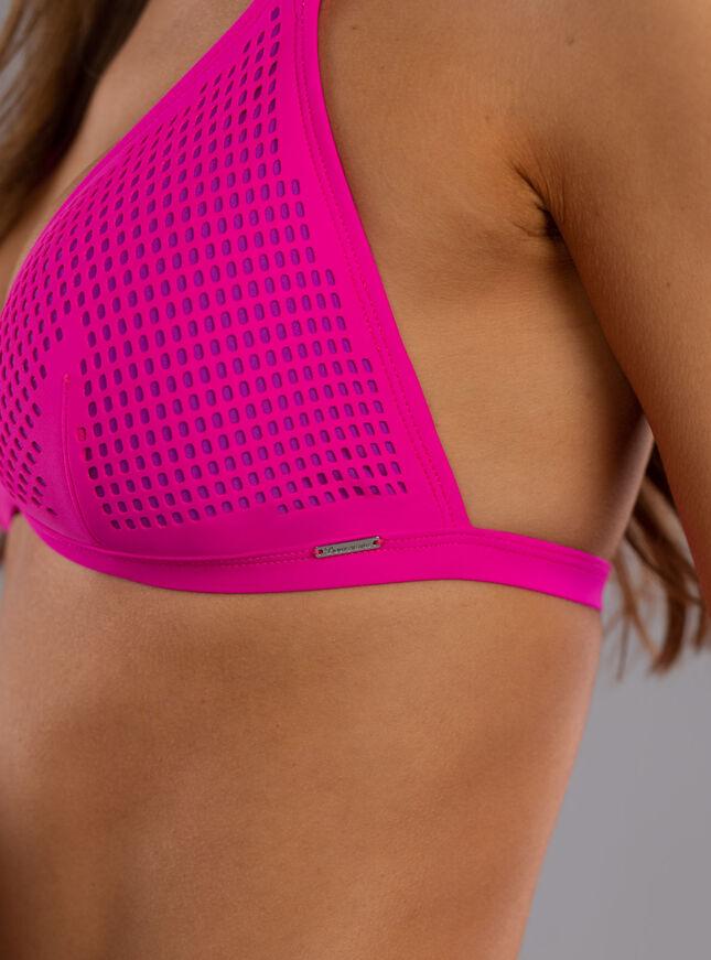 Lisbon mesh triangle bikini top