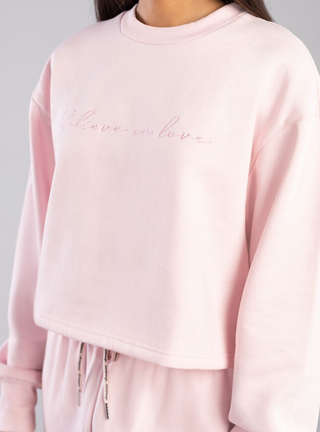Believe in love sweatshirt