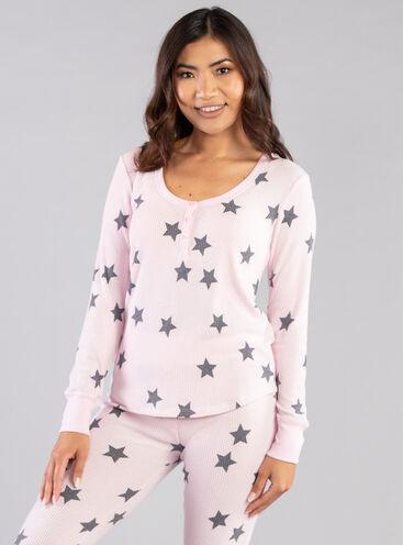 Star print legging set