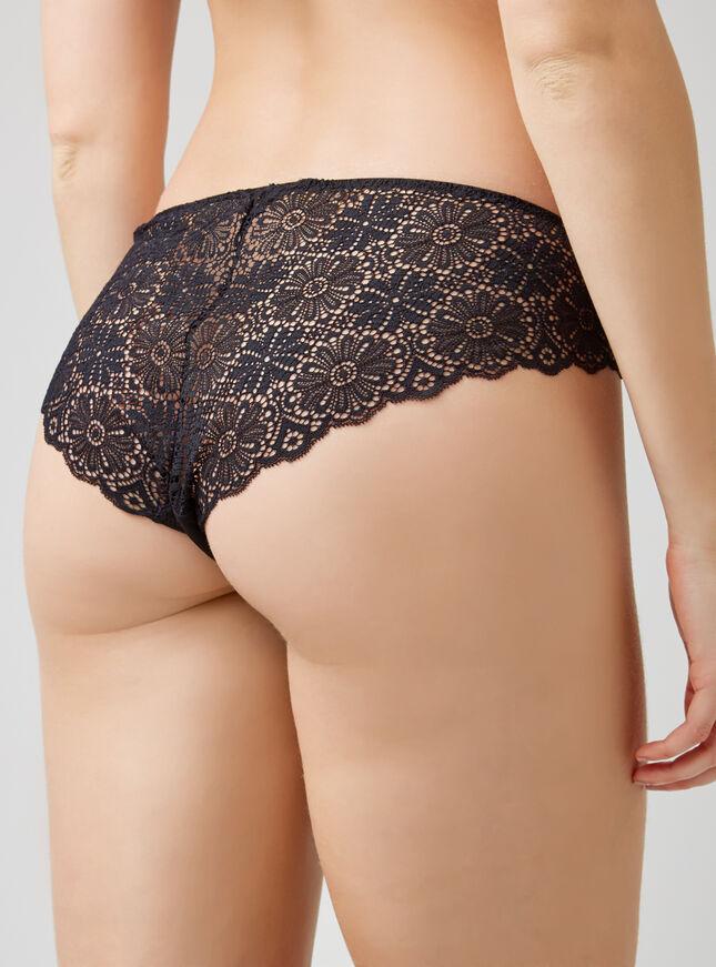 Wrap around lace briefs