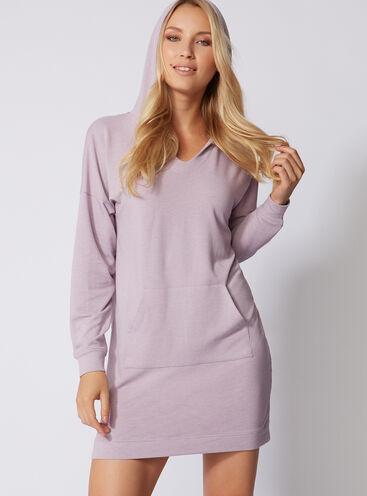 Leisurewear longline hoody