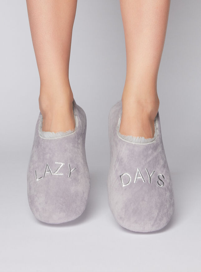 Lazy days slippers
