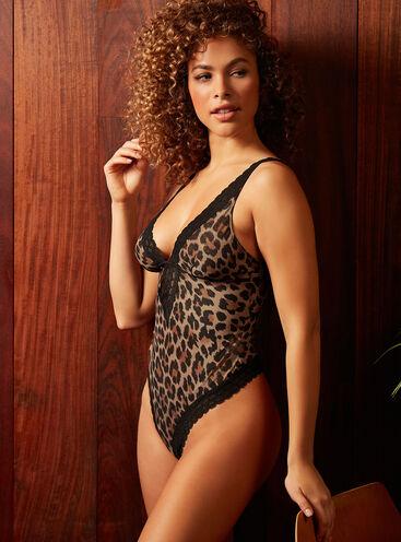 Tallulah leopard thong body