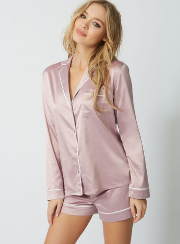 Rita satin short pyjama set